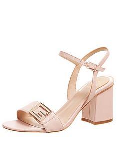 guess-mack-g-monogram-block-heel-sandals-pink