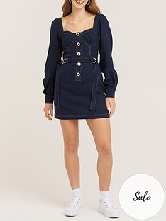 vestire-riding-in-cars-with-boys-dress-navy