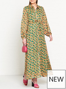 fabienne-chapot-frieda-printed-maxi-dress-green