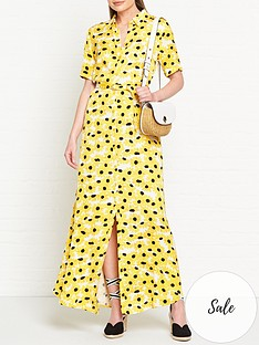 fabienne-chapot-mia-sunflower-print-maxi-dress-yellow