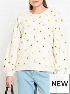 fabienne-chapot-lucy-sunflower-embroidered-sweatshirt-off-white