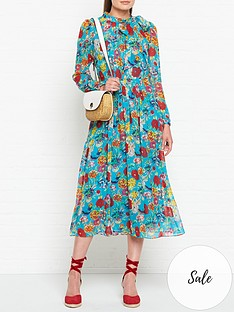 lk-bennett-gish-silk-floral-print-long-sleeve-dress-teal