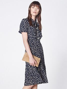 lk-bennett-mia-silk-floral-print-flounce-dress-navy