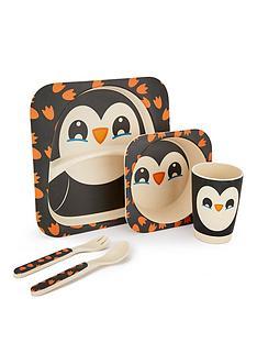 penguin-bamboo-fibre-5-piece-dinner-set
