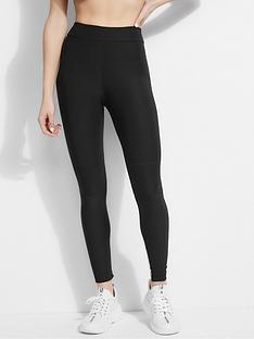 guess-logo-panel-colourblock-leggings-black