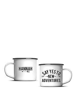 personalised-new-adventures-enamel-mug