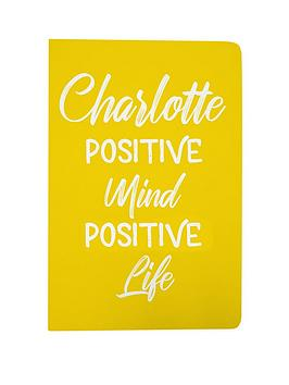 personalised-positive-mind-positive-life-notebook