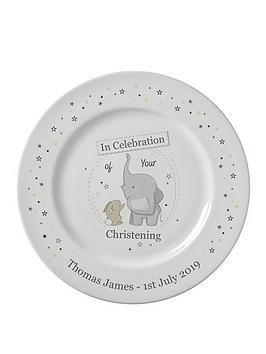 personalised-in-celebration-of-your-christening-plate
