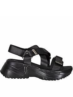 sofie-schnoor-velcro-strap-sandals-black