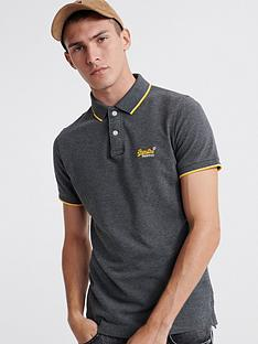 superdry-poolside-pique-short-sleeve-polo-shirt-charcoal