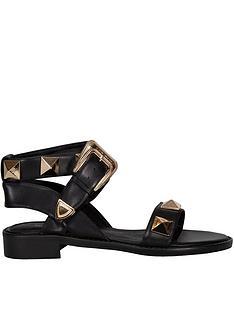 sofie-schnoor-stud-wrap-sandalsnbsp--black