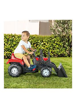 Dolu Pedal Operated Tractor With Front Loader