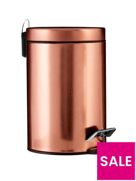 premier-housewares-copper-pedal-bin