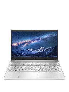 hp-15s-fq0017na-intel-pentium-gold-5405u-4gb-ram-128gb-ssd-156-inch-full-hd-laptop-with-optional-microsoft-365-personal-1-year-silver