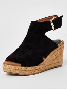 river-island-river-island-wide-fit-espadrille-wedge-sandal-black