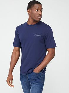 penfield-wallpole-chest-logo-and-back-print-short-sleeve-t-shirt-navy