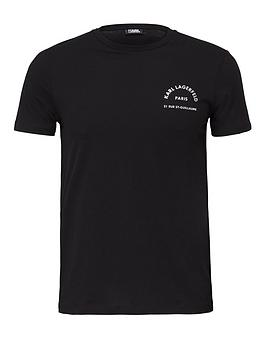 karl-lagerfeld-address-chest-logo-t-shirtnbsp--black