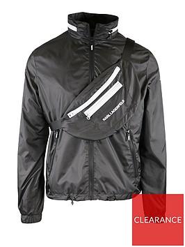 karl-lagerfeld-lightweight-jacket-with-detachable-cross-body-bag-black