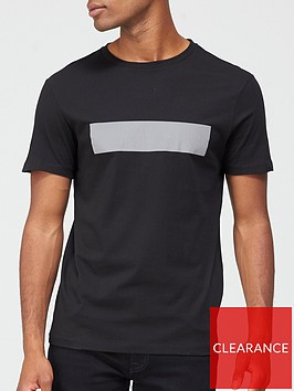 karl-lagerfeld-reflective-logo-t-shirt-black