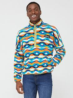 penfield-melwood-geo-14-zip-fleece-multi