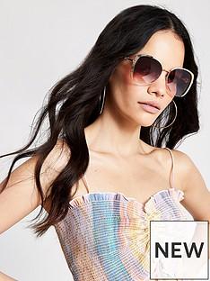 river-island-river-island-rose-gold-pink-lens-sunglasses