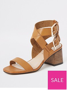 river-island-two-part-block-heel-sandals-tan