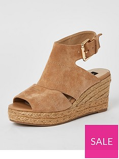 river-island-wide-fit-peep-toe-wedge-sandal-beige