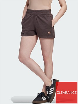 adidas-originals-new-neutral-3-stripes-short-dark-brownnbsp