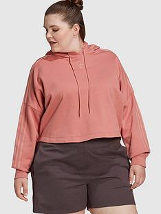adidas-originals-new-neutral-cropped-hoodie-plus-size-pink