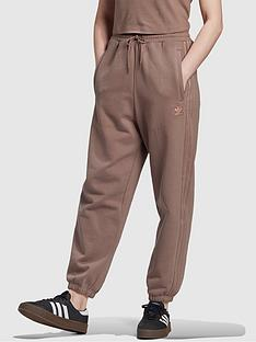 adidas-originals-new-neutral-cuffed-joggers-brownnbsp