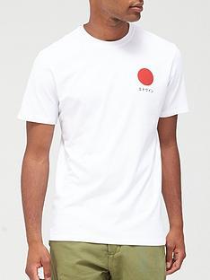 edwin-japanese-sun-logo-t-shirt-white