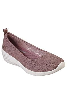 skechers-arya-airy-days-ballerina-shoe-mauve