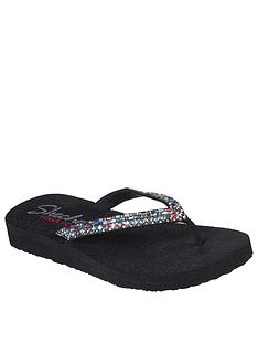 skechers-meditation-flip-flop-black-multi