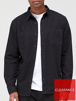 edwin-labour-overshirt-black-rinsenbsp