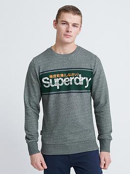 superdry-core-logo-stripe-crew-neck-sweatshirt-charcoal