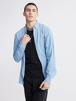 superdry-classic-twill-lite-long-sleeved-shirt-blue