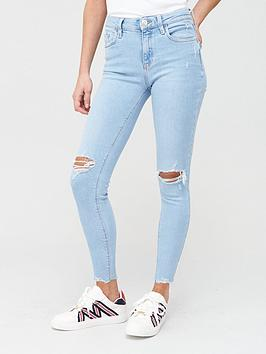 river-island-amelie-ripped-knee-mid-rise-skinny-jeans-light-blue