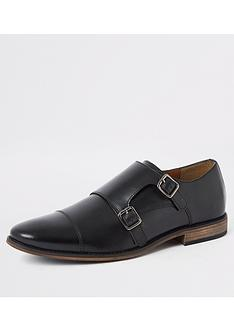 river-island-roger-monk-strap-shoenbsp--black