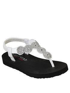 skechers-meditation-flip-flop-white