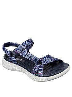 skechers-on-the-go-600-flat-sandal-navy