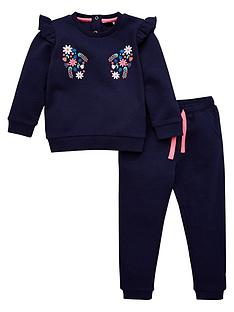 v-by-very-girls-floral-embroidered-tracksuit-navy