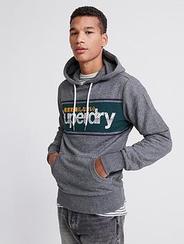 superdry-core-logo-stripe-hoodie-grey