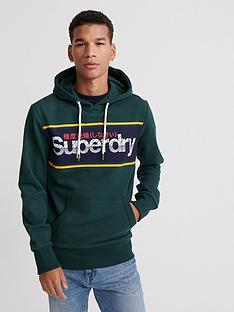 superdry-core-logo-stripe-hoodie-green