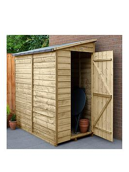 forest-6x3-value-overlap-dip-treated-windowless-pent-shed