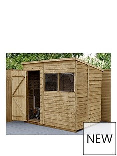 forest-7x5-overlap-pressure-treated-pent-shed
