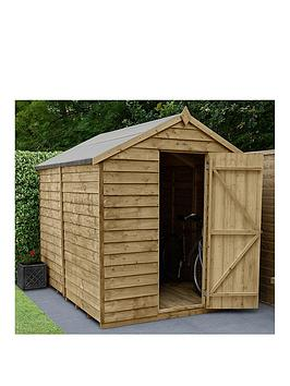 forest-8x6-overlap-pressure-treated-apex-shednbsp