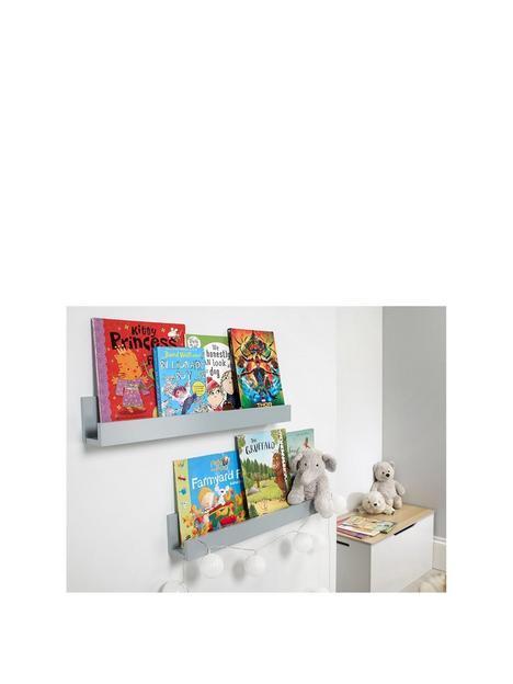 lloyd-pascal-set-of-2-wall-mounted-kids-shelves-grey