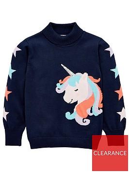 v-by-very-girls-unicorn-jumper-navy