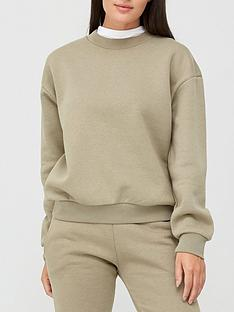 v-by-very-the-essential-basic-sweat-top-khaki