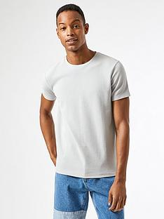 burton-menswear-london-waffle-texture-t-shirt-grey